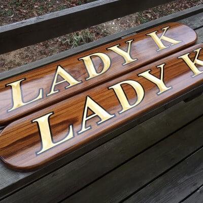 QUARTERBOARDS – LADY K