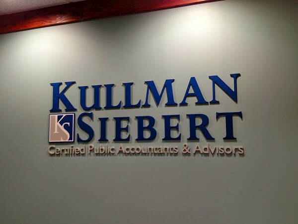 Dimensional Letters Kullman Siebert