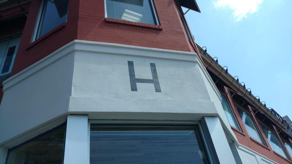 Painted Lettering Halfsmoke