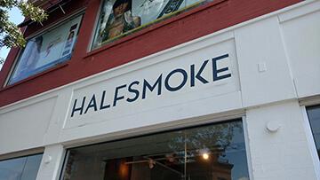Painted Lettering Washington DC – Halfsmoke
