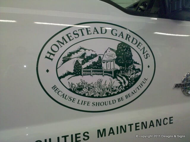 Vehicle Graphics – Homestead Gardens