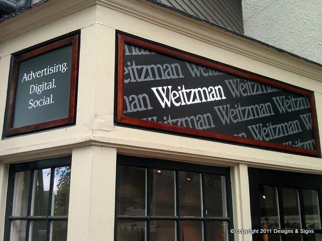Vinyl Lettering – Weitzman Advertising