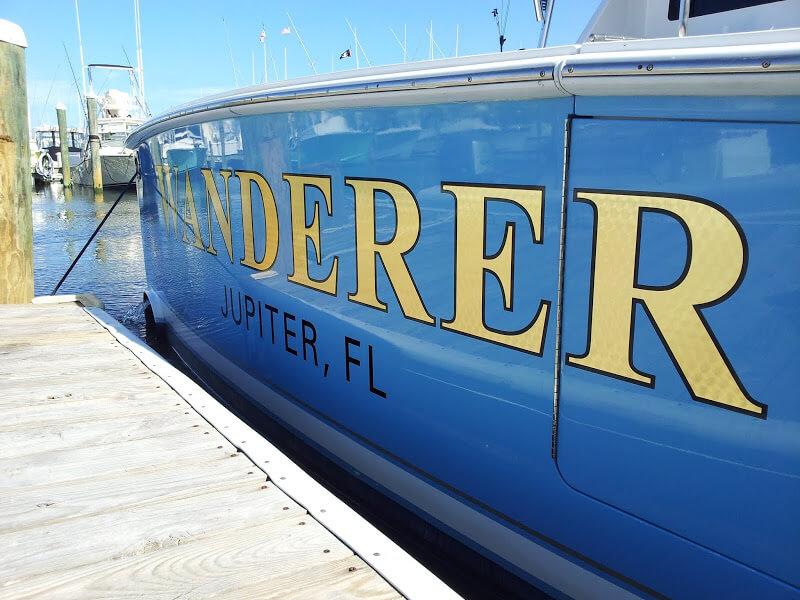 Gold Leaf Boat Lettering Designs Amp Signs