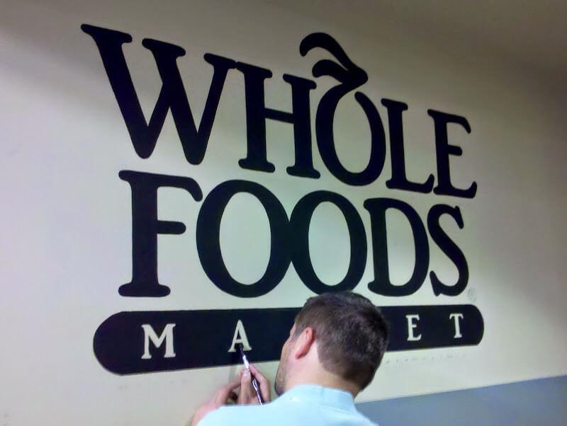 Mural – WFM Rockville Logo