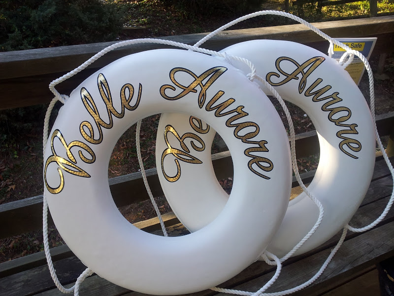 luxury yacht life rings