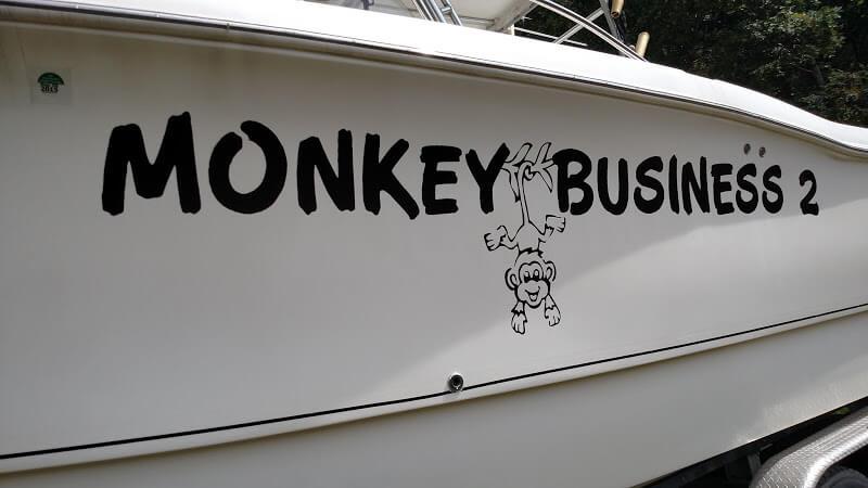 custom vinyl boat names