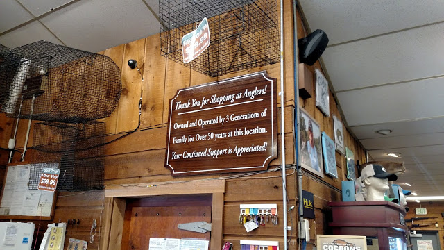 Teak Sign – Anglers