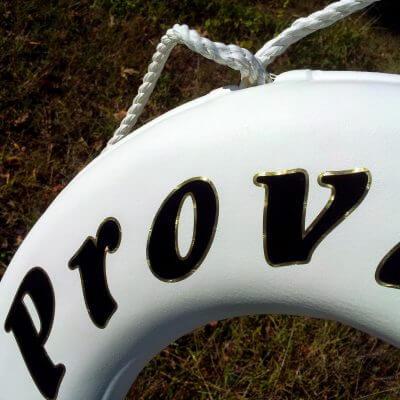 Providence Boat Lettering
