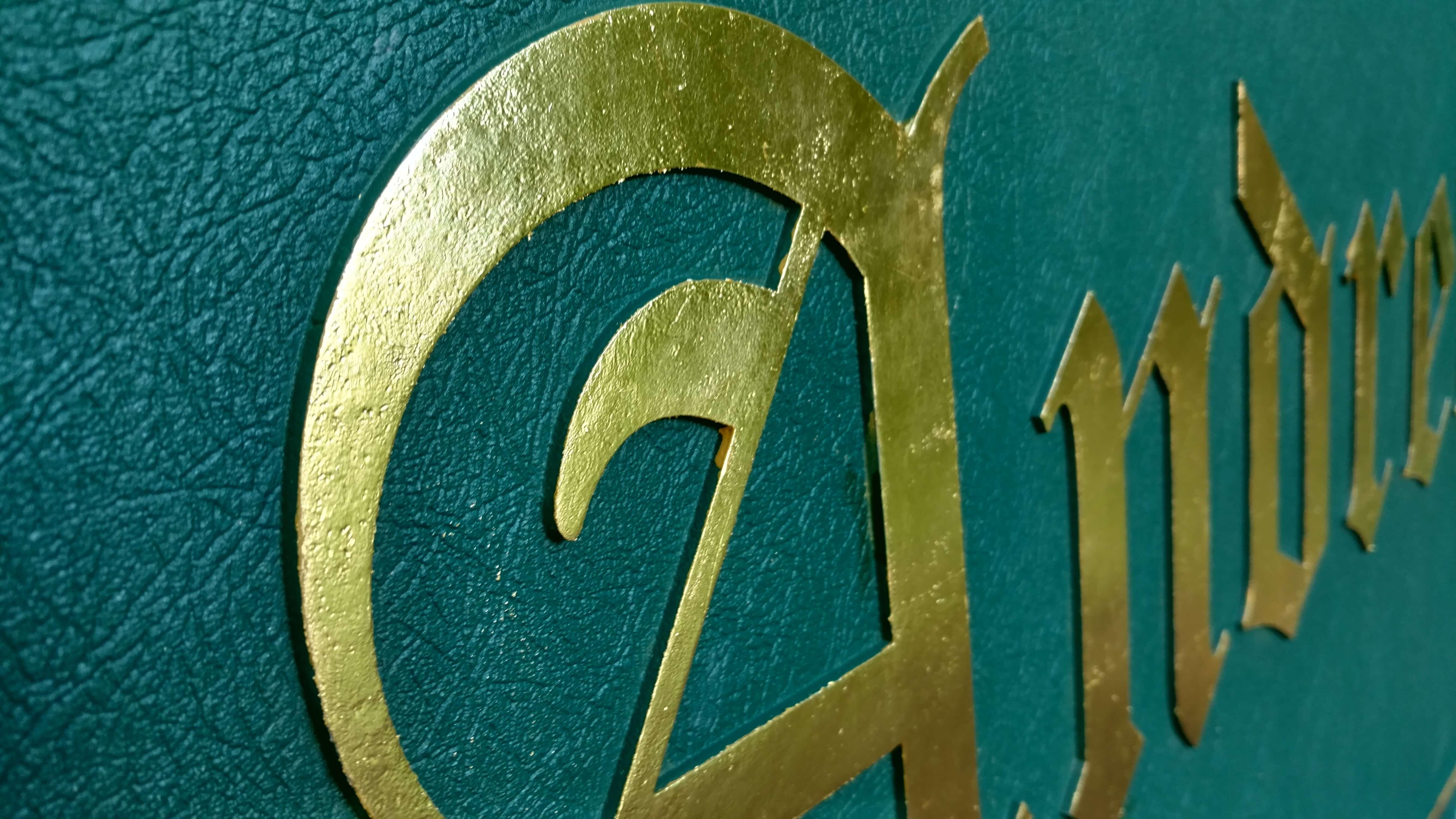 Cast Aluminum Sign – St. Andrews