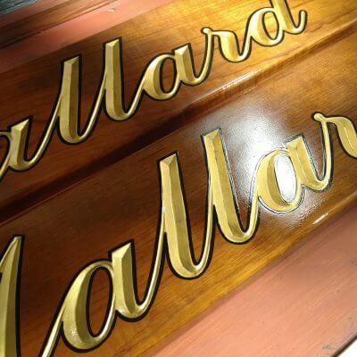 Quarterboards for Mallard