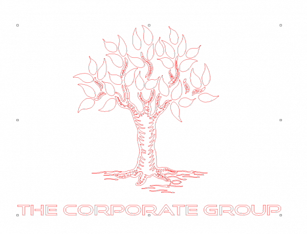line art custom logo