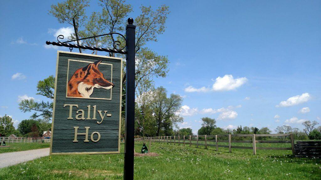 custom farm entrance signs