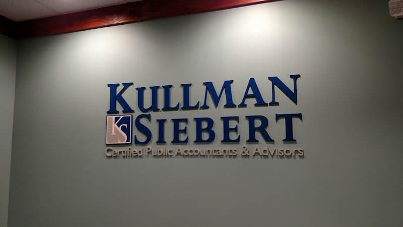 raised letters for kullman siebert