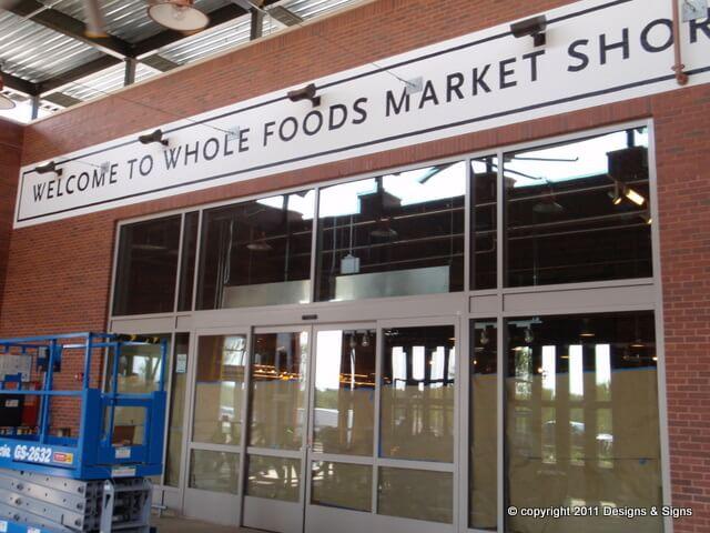 Whole Foods Short Pump Mural