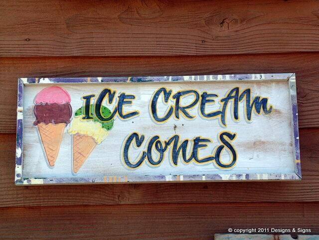 Ice Cream Signs