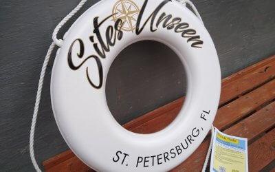 Custom Life Ring Lettering