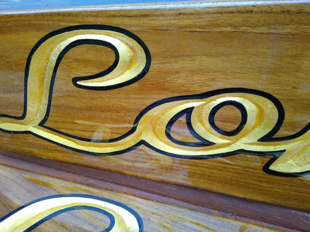 Hand carved teak boards